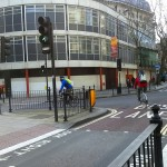 Bloomsbury Way bus contraflow open to cyclists