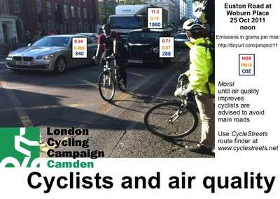 Cyclists and Air Quality