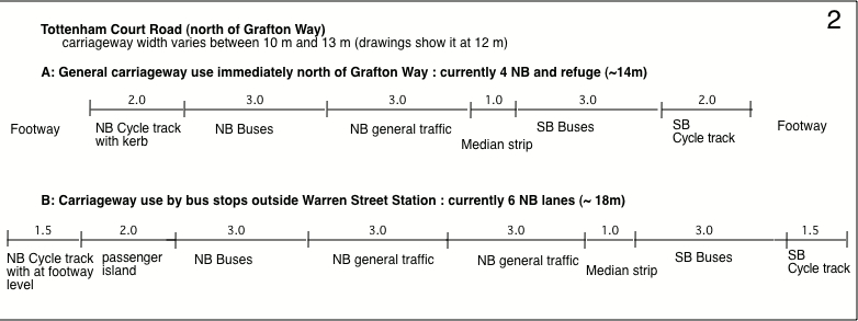 TCR road shares N Grafton Way