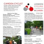 Camden Cyclists Newsletter, Spring 2018