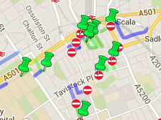 Camden permeability map