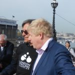 East-West CS route opening by mayor Boris Johnson 6/5/2016