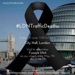 Vigil, City Hall today (Friday 10 June)
