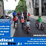 Kidical Mass: families cycle around the world calling for safer cities