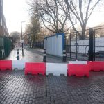 Somers Town Cycle Route – blocked