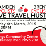 Active Travel Hustings, 4 March 2015