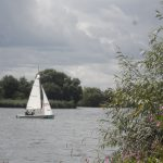 Yacht on Welsh Harp