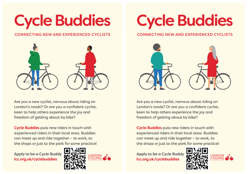 Cycle Buddies Flyer